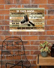 IN THIS HOME WE DO HOCKEY 24x16 Poster poster-landscape-24x16-lifestyle-24