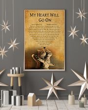 CAT MY HEART WILL GO ON 11x17 Poster lifestyle-holiday-poster-1