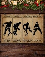 Strong When You Are Weak Hockey 24x16 Poster aos-poster-landscape-24x16-lifestyle-28