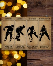Strong When You Are Weak Hockey 24x16 Poster aos-poster-landscape-24x16-lifestyle-30