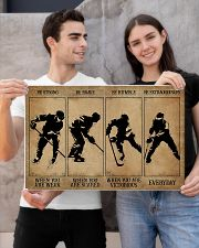 Strong When You Are Weak Hockey 24x16 Poster poster-landscape-24x16-lifestyle-21