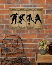 Strong When You Are Weak Hockey 24x16 Poster poster-landscape-24x16-lifestyle-24