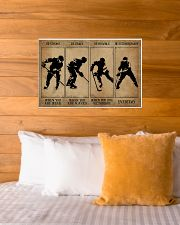 Strong When You Are Weak Hockey 24x16 Poster poster-landscape-24x16-lifestyle-27