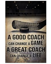 A GOOD COACH CAN CHANGE A GAME 11x17 Poster front