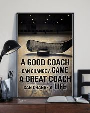 A GOOD COACH CAN CHANGE A GAME 11x17 Poster lifestyle-poster-2