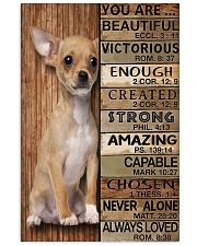 YOU ARE BEAUTIFUL CHIHUAHUA 11x17 Poster front