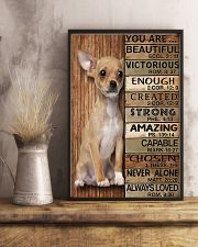 YOU ARE BEAUTIFUL CHIHUAHUA 11x17 Poster lifestyle-poster-3