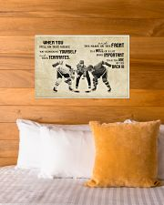 WHEN YOU PULL ON THAT JERSEY 24x16 Poster poster-landscape-24x16-lifestyle-27