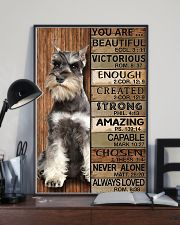 YOU ARE BEAUTIFUL MINIATURE SCHNAUZE 11x17 Poster lifestyle-poster-2