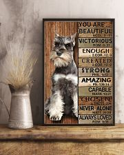 YOU ARE BEAUTIFUL MINIATURE SCHNAUZE 11x17 Poster lifestyle-poster-3