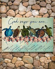 GOD SAYS YOU ARE 24x16 Poster poster-landscape-24x16-lifestyle-16