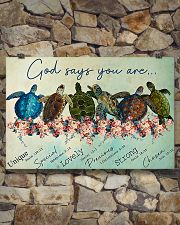 GOD SAYS YOU ARE 24x16 Poster poster-landscape-24x16-lifestyle-17