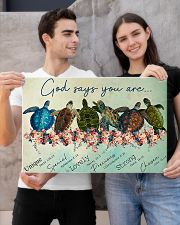 GOD SAYS YOU ARE 24x16 Poster poster-landscape-24x16-lifestyle-21
