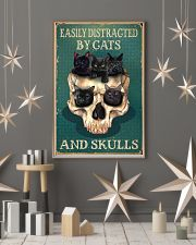 EASILY DISTRACTED BY CATS AND SKULLS 11x17 Poster lifestyle-holiday-poster-1