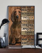YOU ARE BEAUTIFUL DACHSHUND 11x17 Poster lifestyle-poster-2