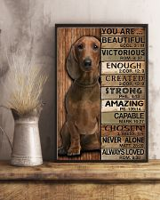 YOU ARE BEAUTIFUL DACHSHUND 11x17 Poster lifestyle-poster-3