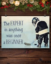 The expert in anything was once a beginner 24x16 Poster aos-poster-landscape-24x16-lifestyle-28