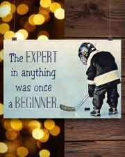 The expert in anything was once a beginner 24x16 Poster aos-poster-landscape-24x16-lifestyle-30