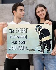 The expert in anything was once a beginner 24x16 Poster poster-landscape-24x16-lifestyle-21