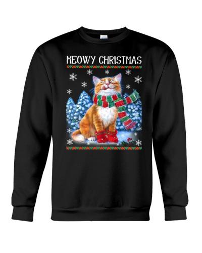 Cute Cat Meowy Christmas