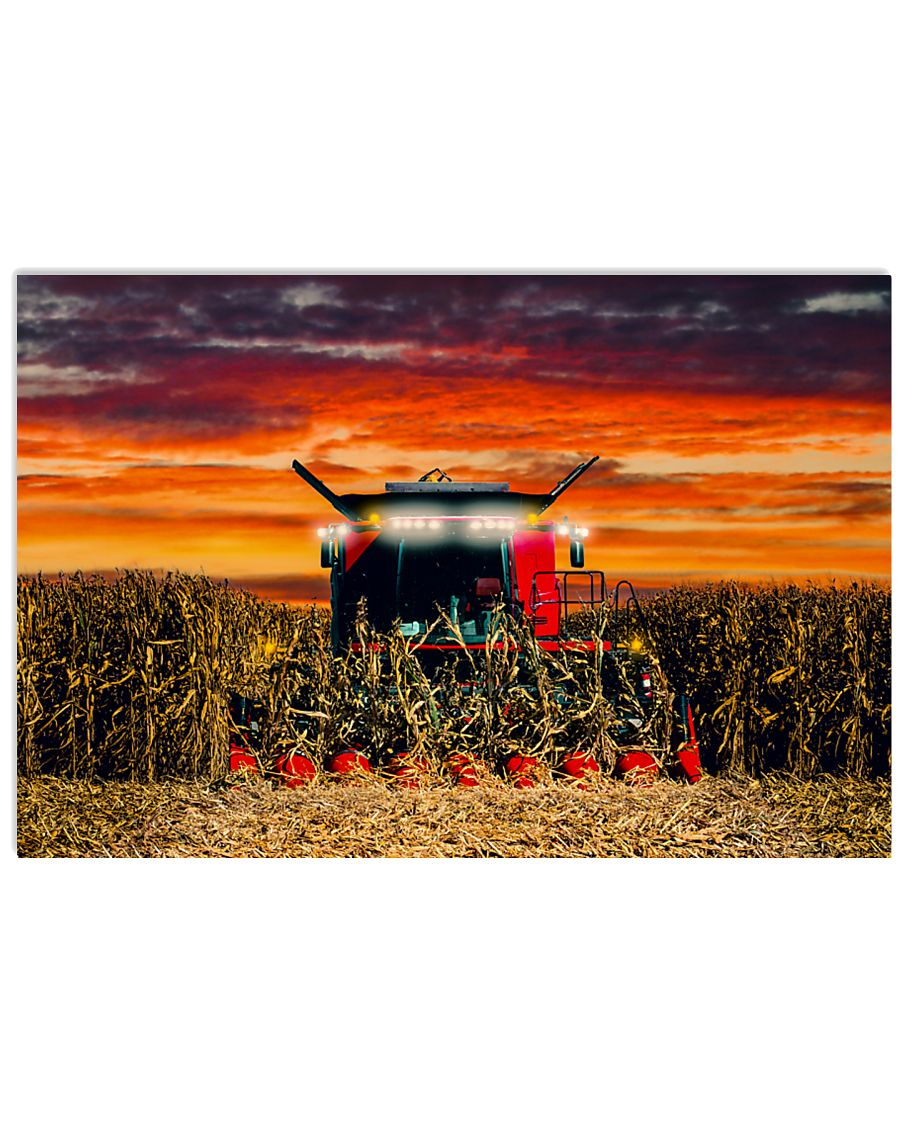 Harvest Time 36x24 Poster