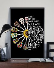 Hippie Peace Poster Gift 24x36 Poster lifestyle-poster-2