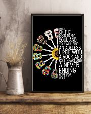 Hippie Peace Poster Gift 24x36 Poster lifestyle-poster-3