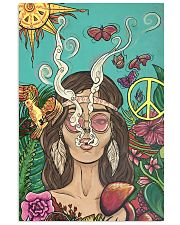 Hippie Girl Peace Poster Gift Made For Fans 24x36 Poster front