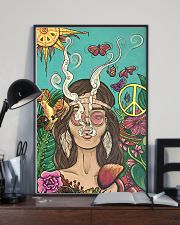 Hippie Girl Peace Poster Gift Made For Fans 24x36 Poster lifestyle-poster-2