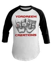 Yordreem Creations Blood Tear Baseball Tee thumbnail