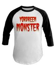 Yordreem Monster Baseball Tee front