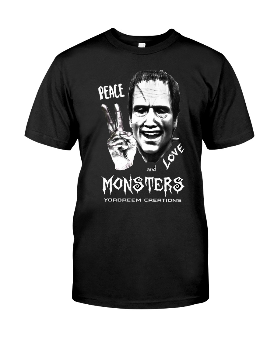 Yordreem Blakenstein PEACE LOVE AND MONSTERS Classic T-Shirt