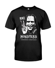Yordreem Blakenstein PEACE LOVE AND MONSTERS Classic T-Shirt front