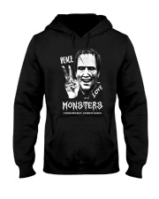 Yordreem Blakenstein PEACE LOVE AND MONSTERS Hooded Sweatshirt thumbnail