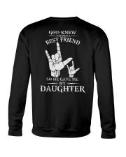 ASL  -  My Daughter Best Friend Crewneck Sweatshirt thumbnail