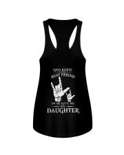 ASL  -  My Daughter Best Friend Ladies Flowy Tank thumbnail