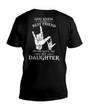 ASL  -  My Daughter Best Friend V-Neck T-Shirt thumbnail