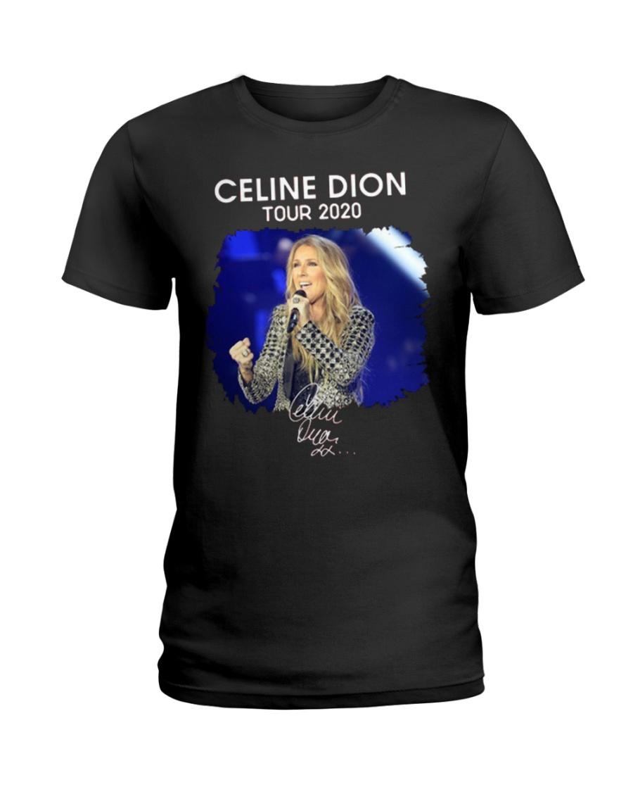 COURAGE CELINE DIONE Ladies T-Shirt