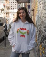 MERRY CHRISTMAS  Hooded Sweatshirt lifestyle-unisex-hoodie-front-1