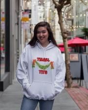 MERRY CHRISTMAS  Hooded Sweatshirt lifestyle-unisex-hoodie-front-2