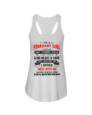 CRAZY GIRL 2 Ladies Flowy Tank thumbnail