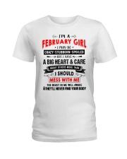 CRAZY GIRL 2 Ladies T-Shirt thumbnail
