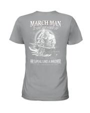 BOOM -  MAN 3 Ladies T-Shirt thumbnail