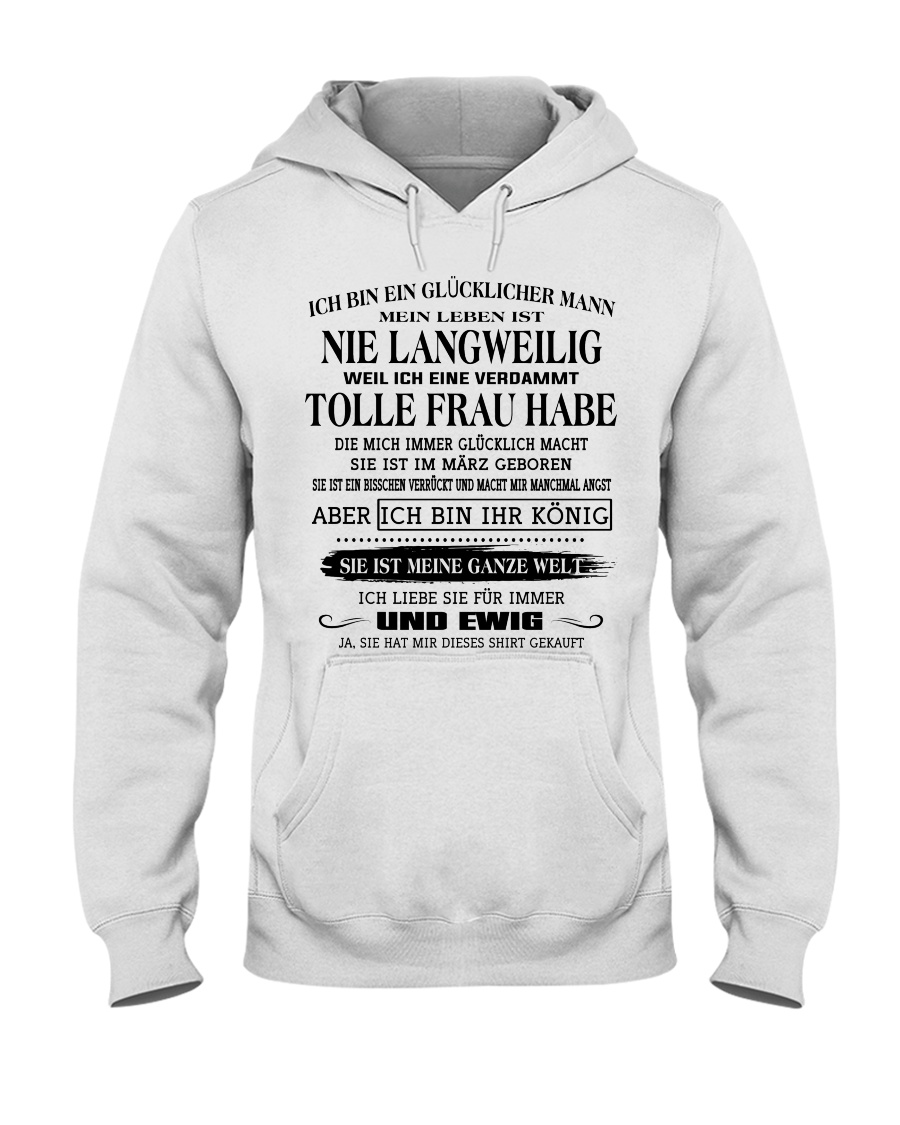 tolle Frau 03 Hooded Sweatshirt