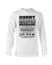 MY FREAKING AWESOME HUSBAND- version Long Sleeve Tee thumbnail
