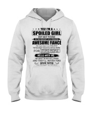 SPOILED GIRL AND FIANCE 1 - MTV Hooded Sweatshirt front