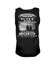 LOVE WIFE TO THE MOON AND BACK - TATTOOS Unisex Tank thumbnail