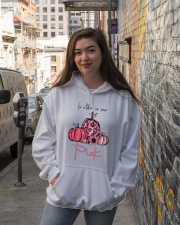 HALLOWEEN - PINK Hooded Sweatshirt lifestyle-unisex-hoodie-front-1