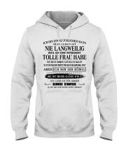 tolle Frau Hooded Sweatshirt front