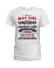 CRAZY GIRL 5 Ladies T-Shirt thumbnail